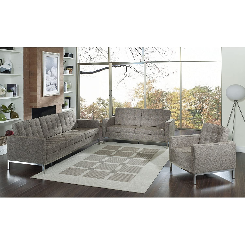 Loft 3 Piece Sofa Set