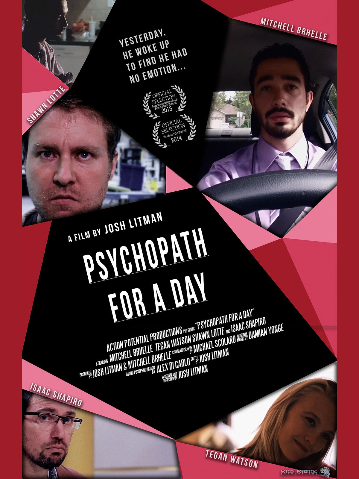 Psychopath for a Day on Amazon Prime Instant Video UK