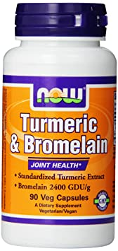Отзывы Now Foods Tumeric and Bromelain
