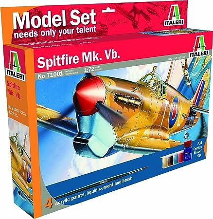 Italeri - I71001 - Maquette - Aviation - Spitfire MK V - Echelle 1:72