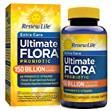 Renew Life Adult Probiotic - Ultimate Flora Extra Care, Probiotic Supplement - 150 Billion, 30 Vegetable Capsules (Packaging May Vary) (Tamaño: 30 Count)