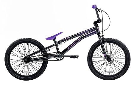 Bmx Purple And Black Bmx Bike Black/purple
