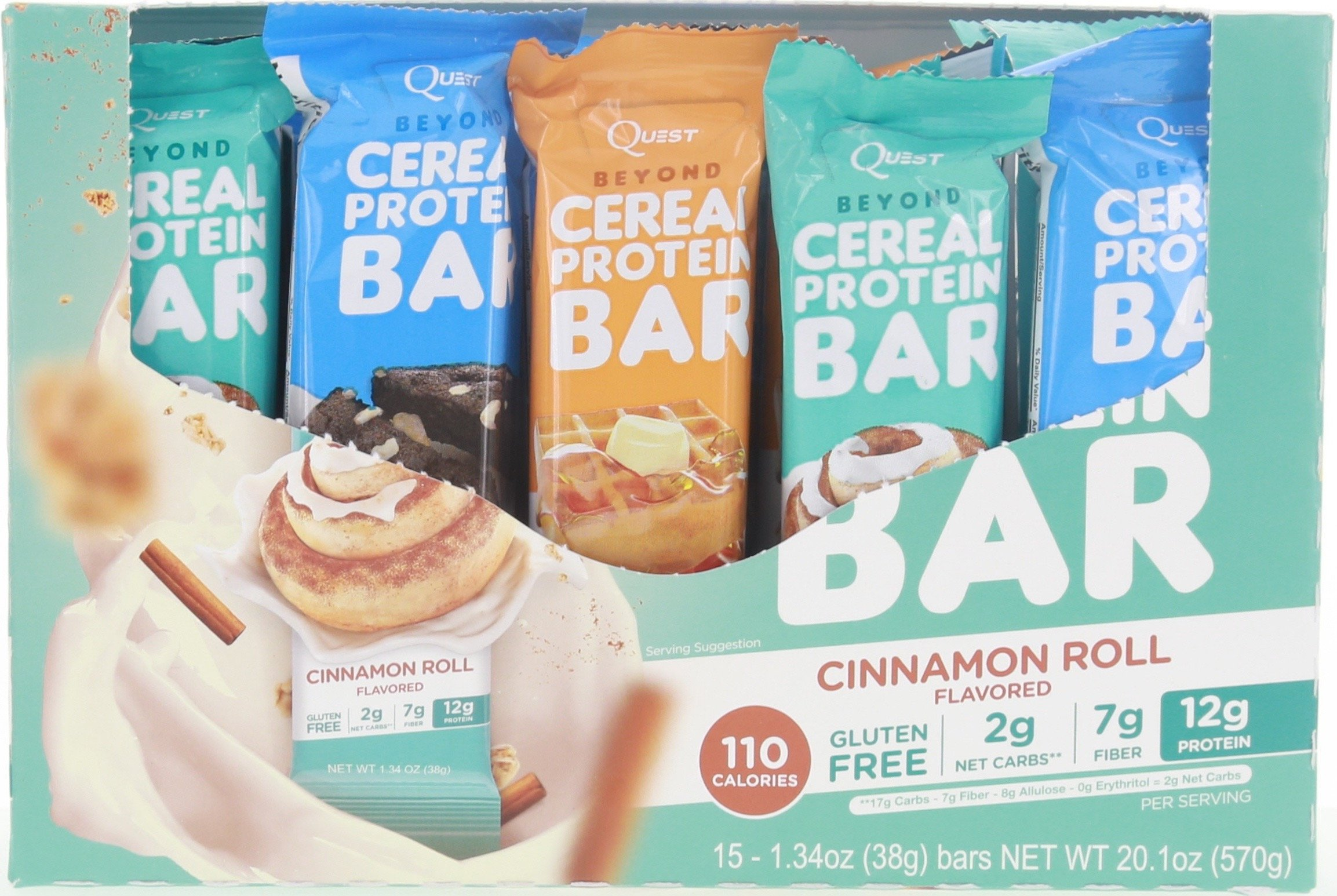 Buy Quest Beyond Cereal Bar Now!
