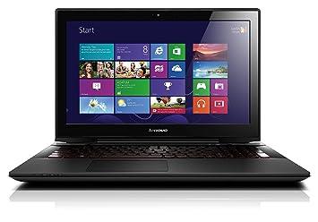"""Lenovo Y50-70 Ordinateur portable Gamer 15"""" Noir Métal (Intel Core i7, 8 Go de RAM, Disque dur 1 To + 8 Go SSD, Nvidia GeForce GTX 960M, Mise à jour Windows 10 gratuite)"""