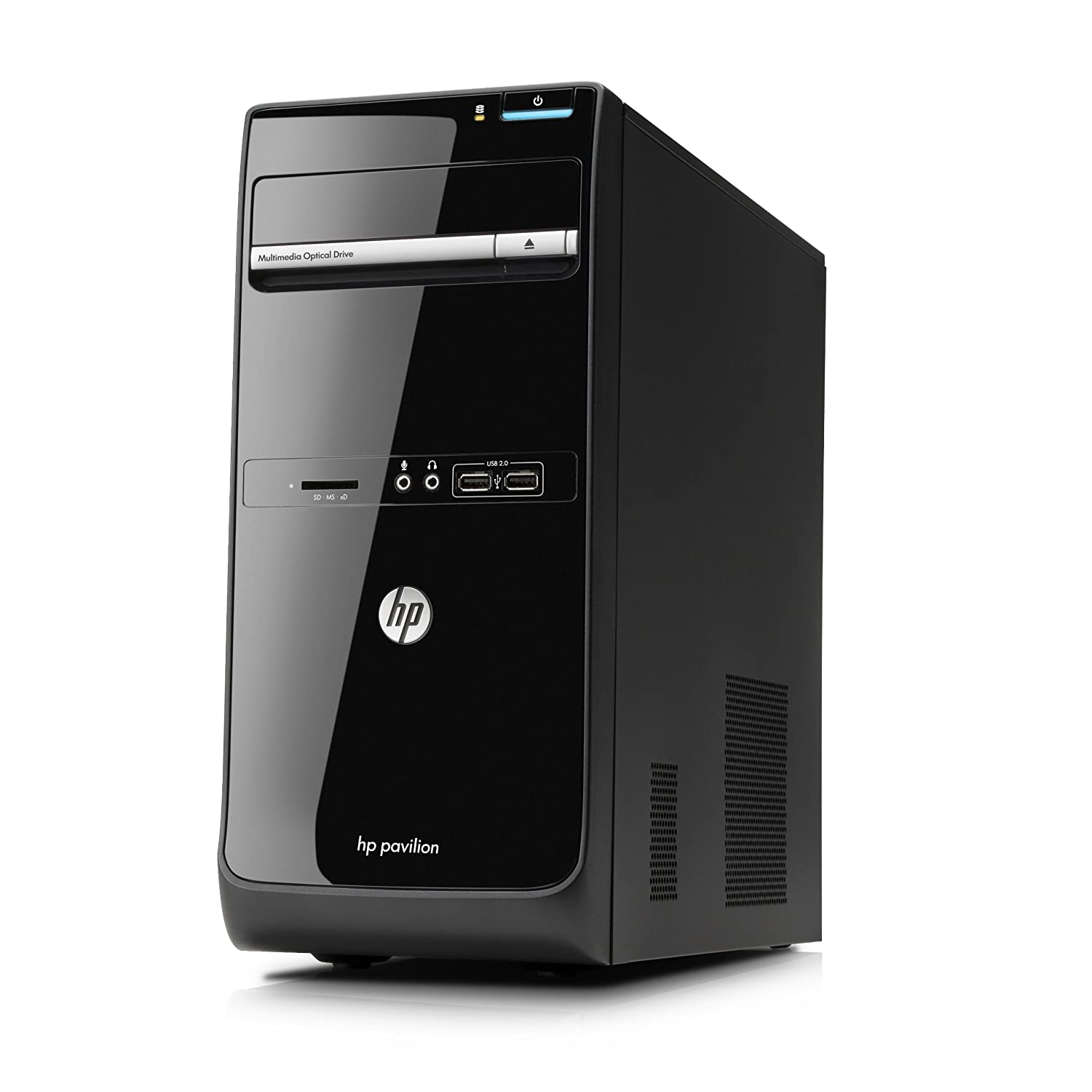 hp pavilion p6 2364ea desktop pc intel i5 3ghz 4gb ram 500gb black windows 8 ebay. Black Bedroom Furniture Sets. Home Design Ideas
