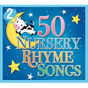 50 Nursery Rhymes Songs (2 CD Set)