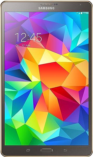 "Samsung Galaxy Tab S LTE Tablette tactile 8,4"" (21,34 cm) (16 Go, Android, 1 Port USB 2.0, 1 Prise jack, Noir)"