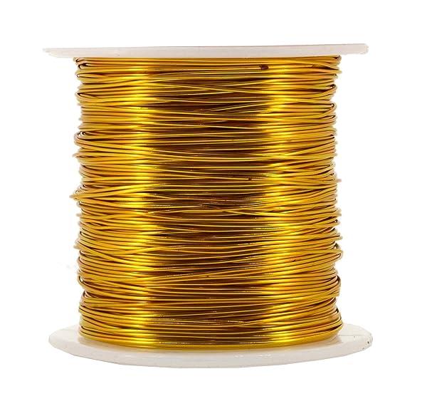 0.64mm Gold Filled Half Round Wire 22g Half Hard 5ft