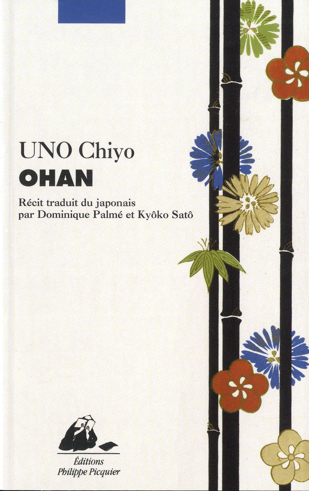 Couverture livre Ohan éditions Philippe Picquier