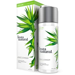 InstaNatural Acne Face Wash width=