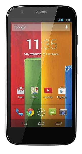 Motorola Moto G (première Génération) Smartphone débloqué 3G+ (Ecran : 4.5 pouces - 16 Go - Android 4.4 KitKat) Noir