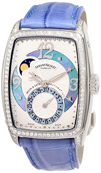 Armand Nicolet Women's 9633L-AK-P968VL0 TL7 Classic Automatic Stainless-Steel with Diamonds Watch