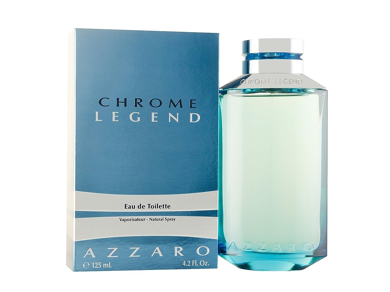 Chrome Legend by Azzaro For Men. Eau De Toilette Spray 4.2-Ounces