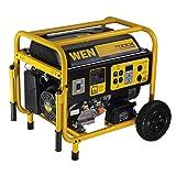 WEN 56682, 5500 Running Watts/7000 Starting Watts, Gas Powered Portable Generator (Tamaño: 7000 Watt)