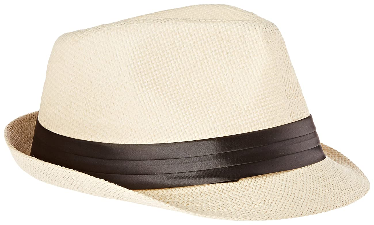 Simplicity Men / Women Summer Vintage Straw Fedora 0