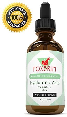 Hyaluronic Acid Serum ★SALE!★ BEST Hyaluronic Acid Vitamin C Serum for face | Best Advanced Anti Aging Serum for that Natural GLOW | Premium Anti Aging & Anti Wrinkle Skin Care | For Your Best SKIN YET! | Antioxdiants + Vitamin C + Vitamin E | Natural & Organic | Lasting RESULTS with IMMEDIATE Use ★ WORKS or YOUR MONEY BACK! Every Single PENNY is covered by our Guarantee - GET YOURS TODAY!