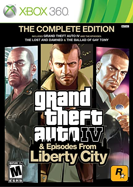 Grand Theft Auto IV & Episodes from Liberty City: The Complete Edition (Xbox 360) $14.99