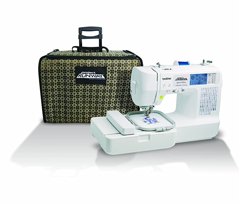 Brother LB6800PRW Project Runway Computerized Embroidery and Sewing Machine Review