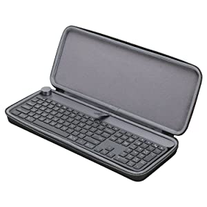 XANAD Hard Protective Case for Logitech CRAFT Wireless Keyboard Storage Travel Carrying Bag