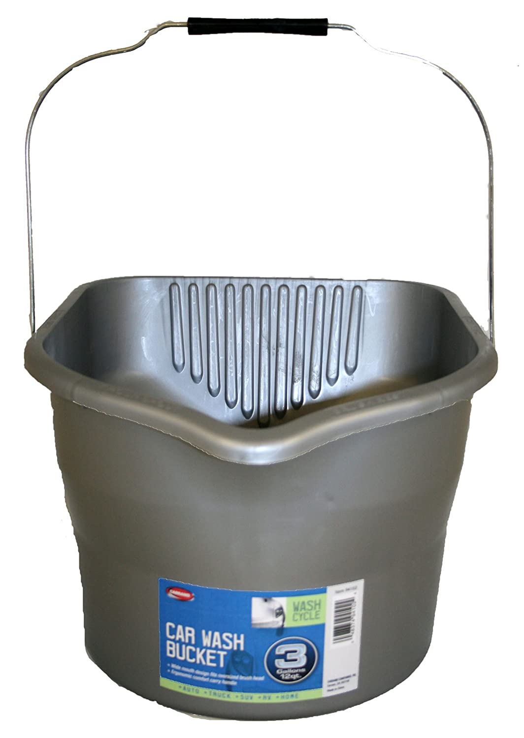 Carrand 94102 Car Wash Bucket, 3 Gallon Capacity