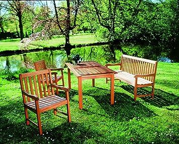 MERXX Gartenmöbel Gartensitzgruppe Santos 4-teilig
