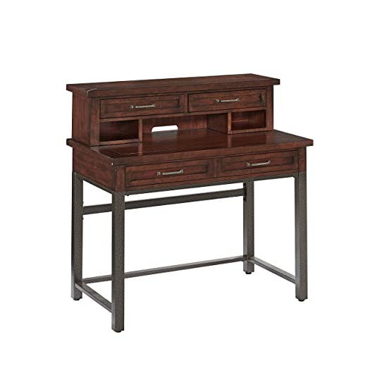 Home Styles Model 5411-162 Cabin Creek Student Desk and Hutch, Heavily Distressed Multi-Step Chestnut Finish: Furniture & Dec