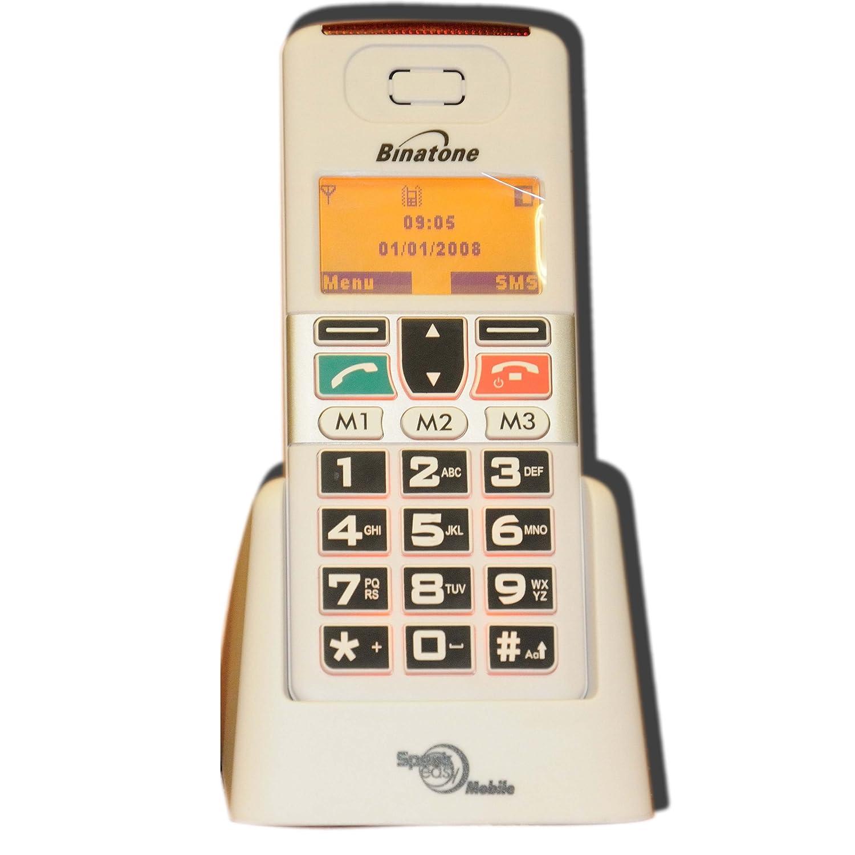 binatone speakeasy big button basic mobile phone 14day. Black Bedroom Furniture Sets. Home Design Ideas