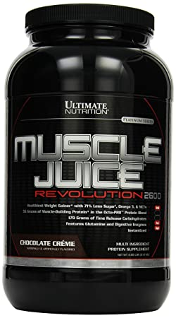 Ultimate Nutrition Muscle Juice Revolution Chocolate Creme , 1er Pack (1 x 2.12 kg)
