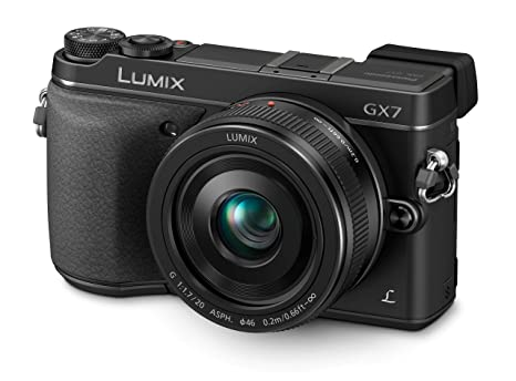 Panasonic Lumix DMC-GX7CEB-K G Series Appareil photo - noir (20mm objectif, 16MP)