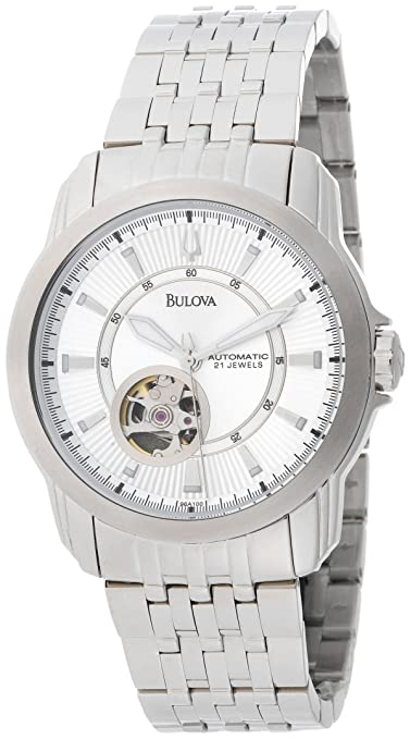 Bulova Men's 96A100 Automatic Self-Winding Mechanical Exhibition Caseback Bracelet Watch-奢品汇 | 海淘手表 | 腕表资讯