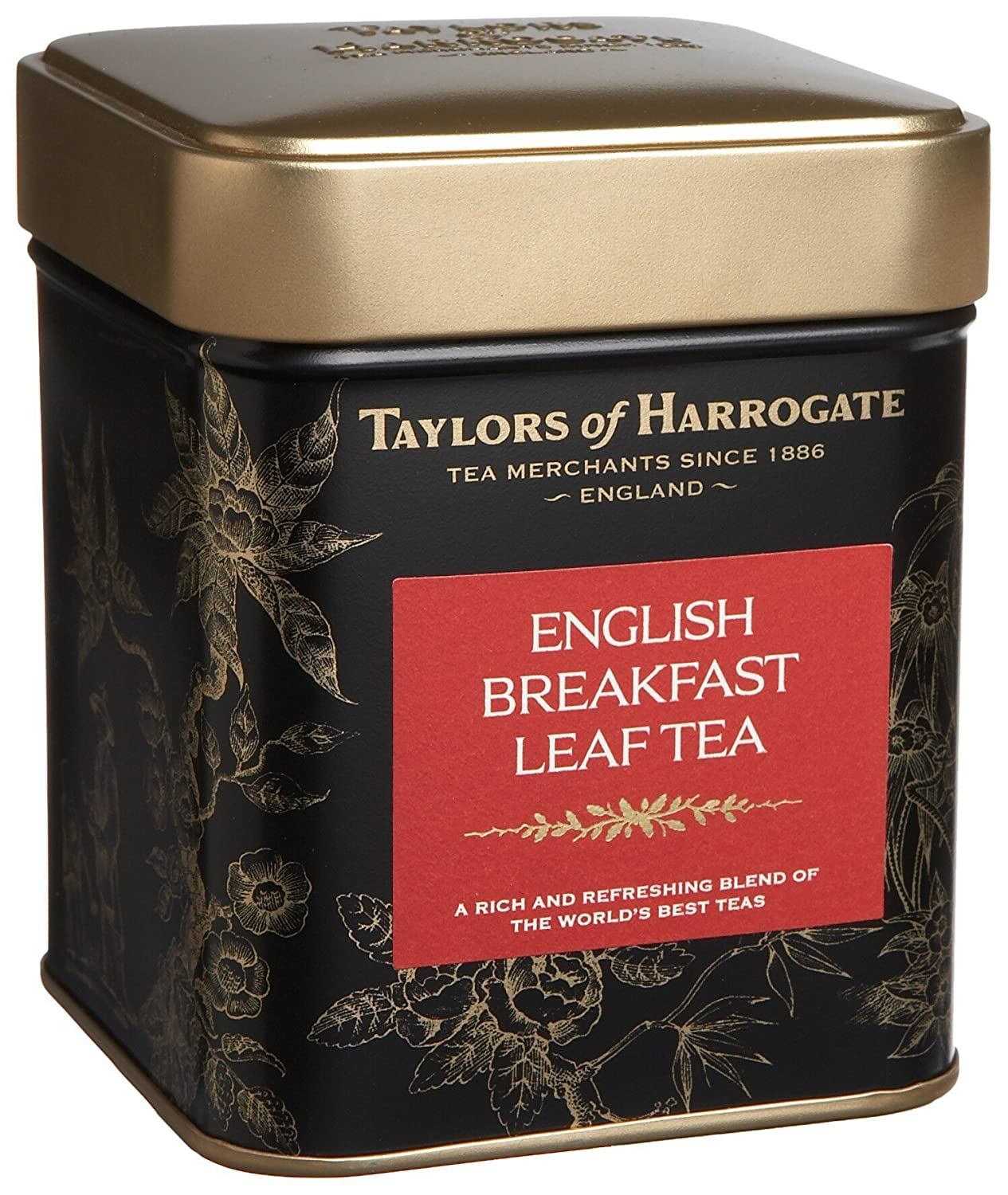 30% Off Taylors of Harrogate English Breakfast Leaf Tea, Loose Leaf, 4.41-Ounce Tins (Pack of 2)