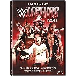 BIOGRAPHY: WWE LEGENDS VOLUME 1 DVD