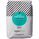 AmazonFresh Go For The Bold Ground Coffee, Dark Roast, 32 Ounce (Tamaño: 32 Ounce (Pack of 1))