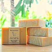 Handmade Goats Milk and Honey Soap - 100% All Natural Fragrance Free Fresh Goat Milk Soap...