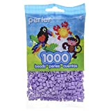 Perler Beads Fuse Beads for Crafts, 1000pcs, Lavender Purple (Color: Lavender Purple)