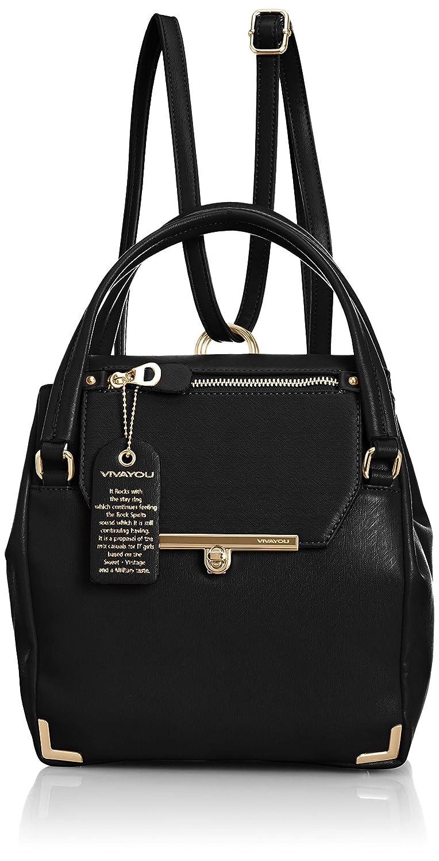 Amazon.co.jp: [ビバユー] VIVAYOU(ビバユー) ビバユー/リュック兼用フラップデザインバッグ 5107751 BK (ブラック): シューズ&バッグ:通販