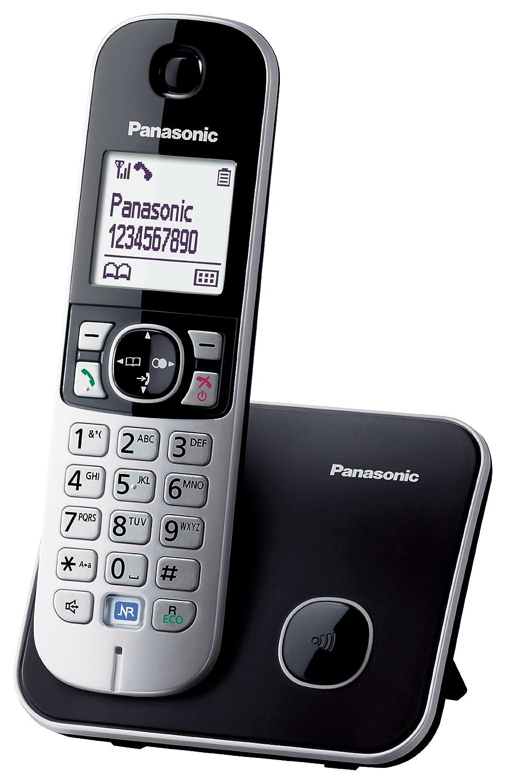 T�l�phone fixe PANASONIC KXTG6811 NOIR SOLO SANS REPONDEUR