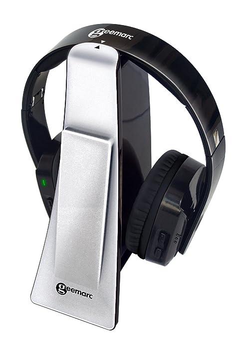 Geemarc CL7400_SIL_VDE casque audio sans fil argent