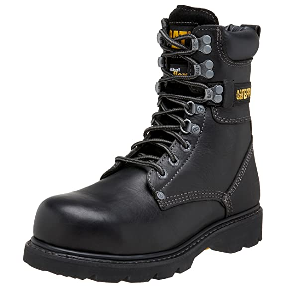 "Designer Caterpillar Indiana 8"" Steel Toe Boot For Men Discount Sale Multicolor Schemes"