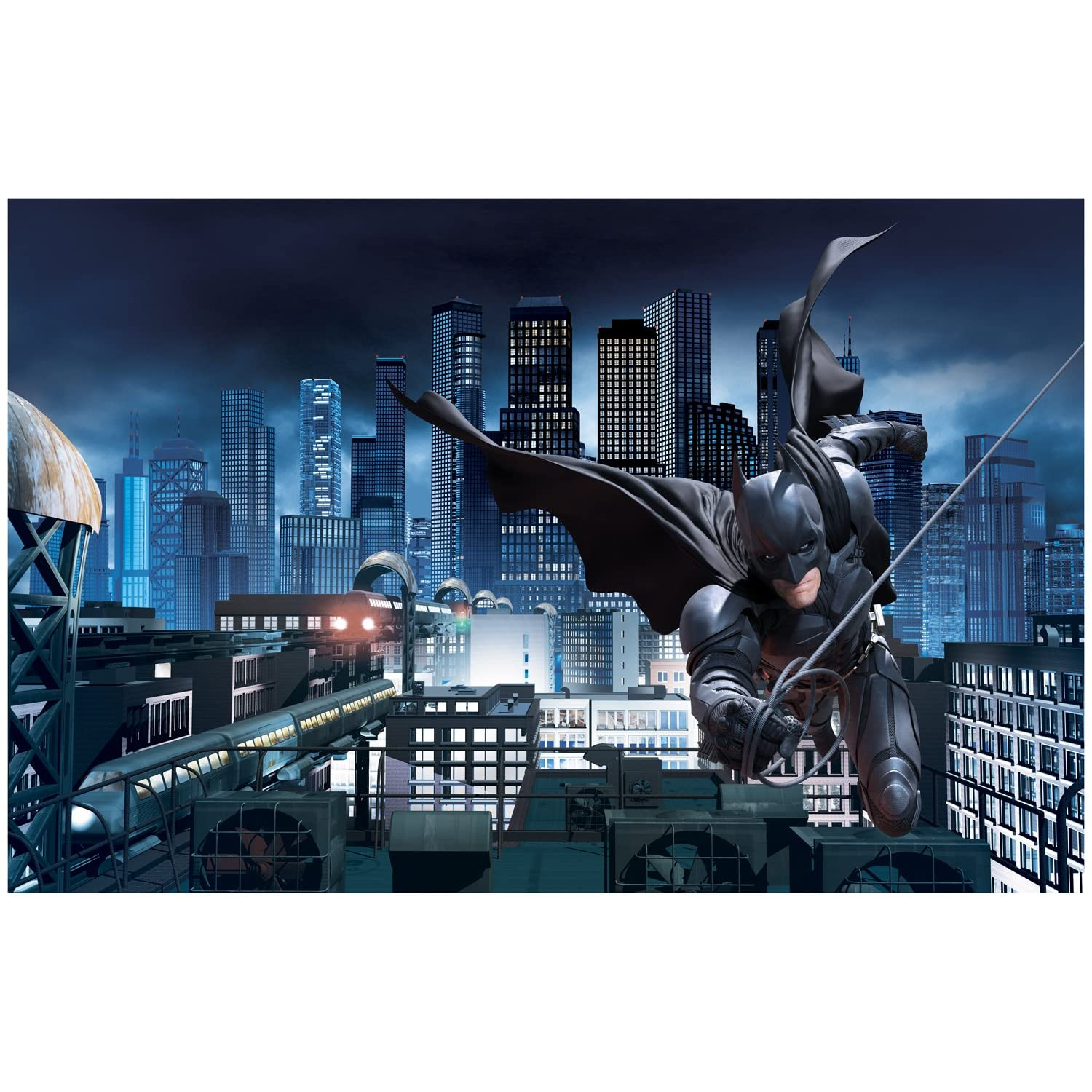 Batman bedroom decor archives groovy kids gear for Dark knight mural