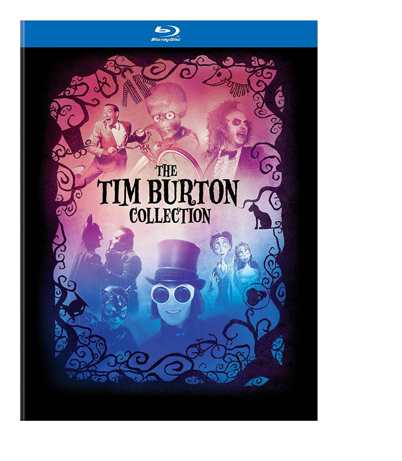The Tim Burton Collection + Book [Blu-ray] $25.99