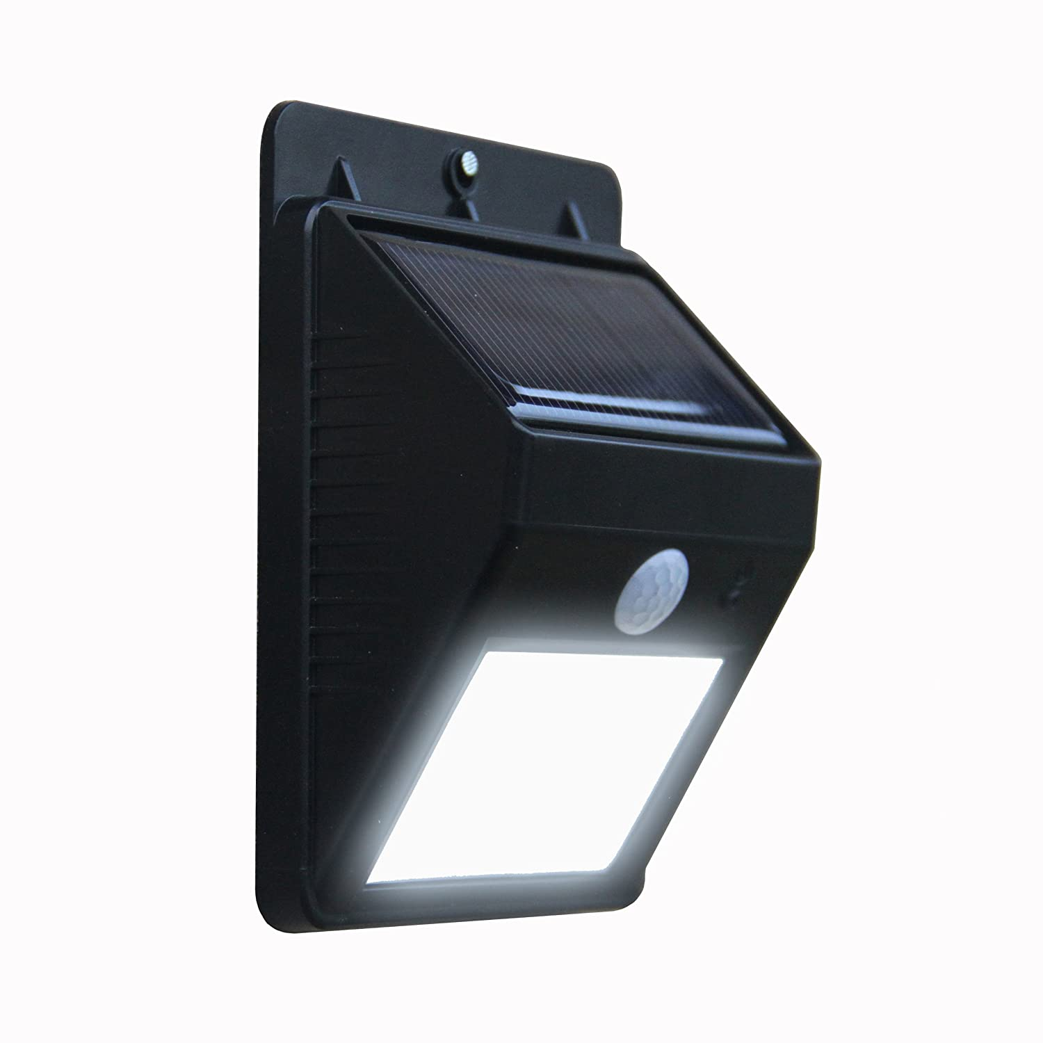 Solar Magic Black Solar Motion Sensor Spot Light - Pack - Bunnings