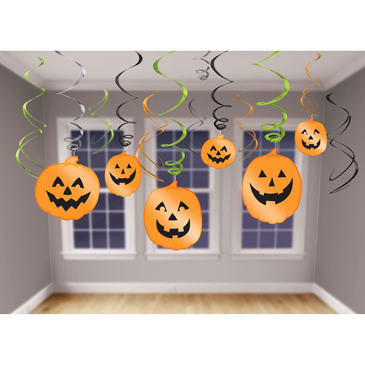 Halloween Jack O Lantern Hanging Party Decorations | Halloween Wikii