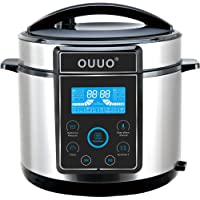 OUUO Programmable Smart 6 Qt Electric Pressure Cooker