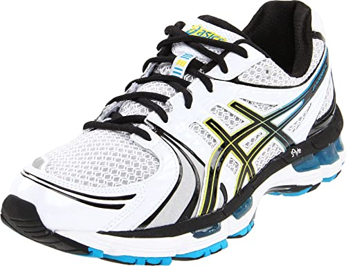 asics gel kayano 18 onyx black blazing yellow