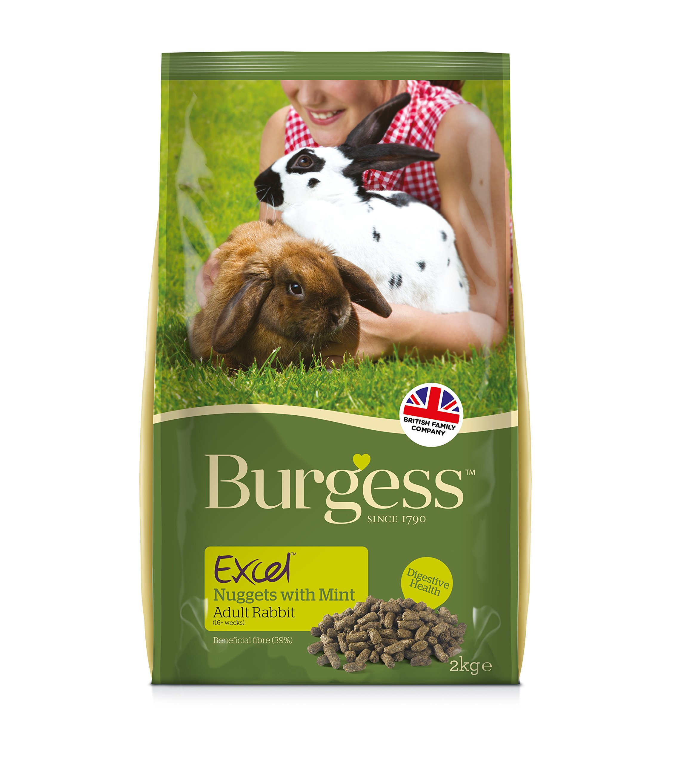 Adult Excel Burgess Rabbit Food