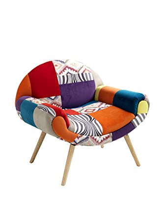Contemporary Living Armchair kaleidos-f