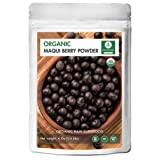 Organic Maqui Berry Powder (1/4 lb) by Naturevibe Botanicals, Gluten-Free & Non-GMO (4 ounces)