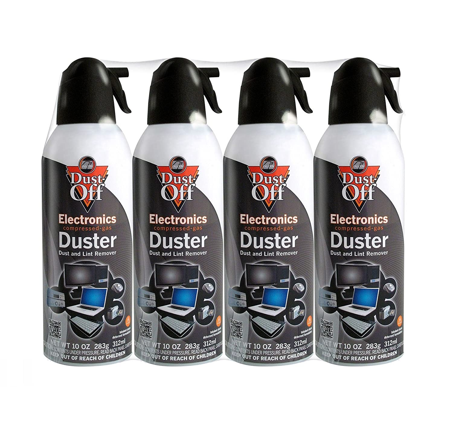 Compressed air is good for drying and blowing out debris.