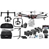 DJI Matrice 600 Pro Hexacopter Drone Combo - Includes 6x TB47S Batteries + 6x TB48S Batteries + Battery Charging Hub + CrystalSky 7.85